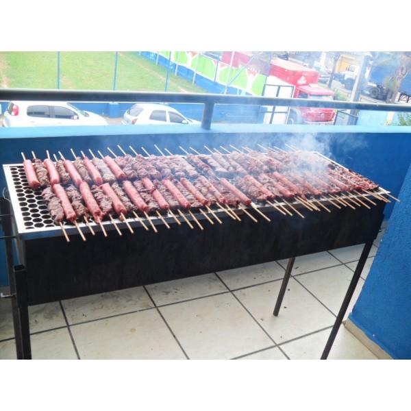 Buffet Churrasco a Domicílio na Vila Ipojuca - Churrasco a Domicílio em Araçaiguama