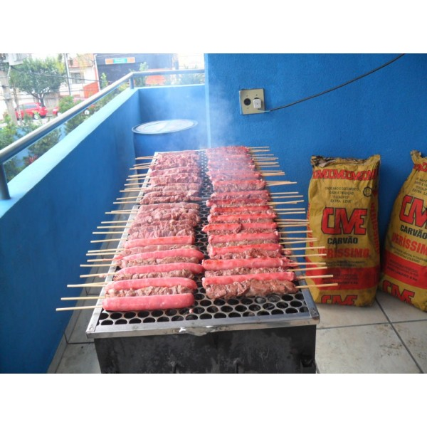 Churrascos a Domicílio Preço no Jardim Cachoeira - Buffet Churrasco SP Domicílio