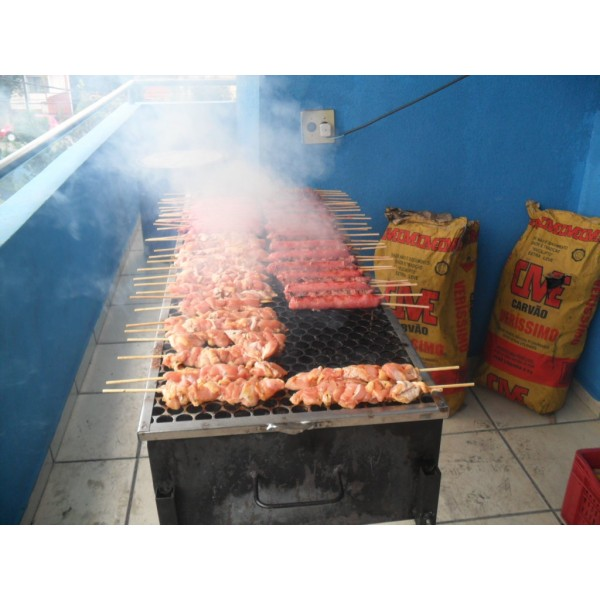 Serviço de Churrasco a Domicílio na Vila Sabrina - Buffet de Churrasco em Domicílio SP Preço