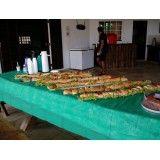 Churrasco para Evento preços na Vila Santana